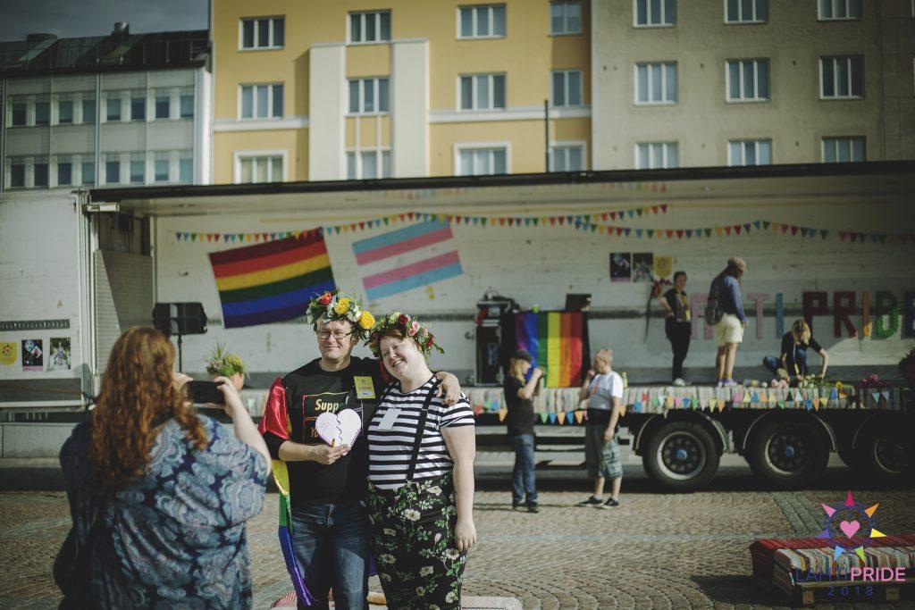 Lahti Pride 2018. Kuva: Heini Salo.