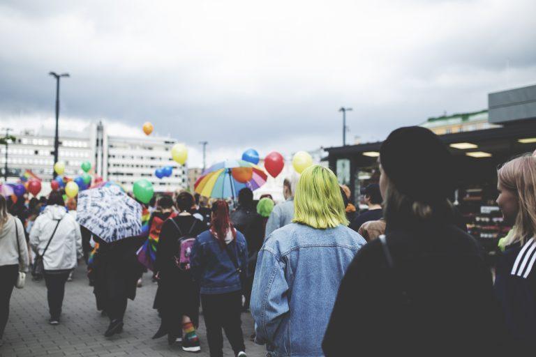 Lahti Pride 2019. Kuva: Heini Salo.